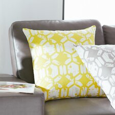 Throw Pillow in Yellow