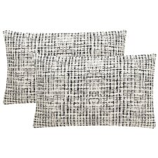 Abstract Grid Small Pillows (Set of 2)