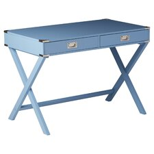 Neptune Campaign 2 Drawer Writing Desk