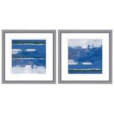 Abstract Ocean Landscape 2-Piece Wall Art