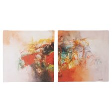 Color Burst Wall Art Set