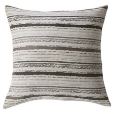 Tracks Feather Filled Throw Pillow