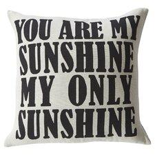 Modern Sunshine Throw Pillow