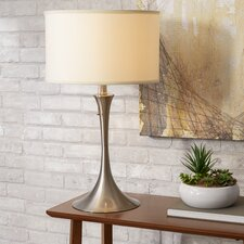 "Retro 27.5"" H Table Lamp with Drum Shade"