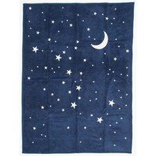 Starry Night Cotton Throw Blanket