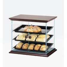Stainless Steel with Black Trays