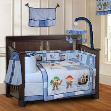 Pirates Baby 10 Piece Crib Bedding Set
