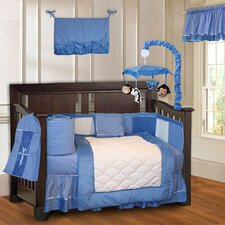Minky Baby 10 Piece Crib Bedding Set