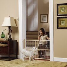 GuardMaster II Wire Mesh Pet Gate