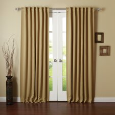 Thermal Insulated Blackout Curtain Panel (Set of 2)