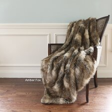 Faux Fur Lounge Throw
