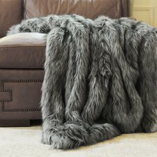 Silver Fox Throw