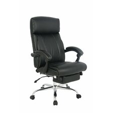 Ergonomic High-Back Leather Executive Chair