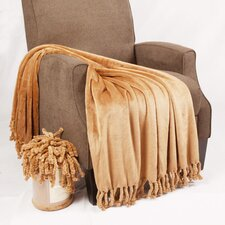 Flannel Fleece Braided Throw