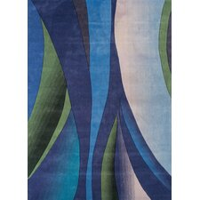 Festival Blue/Green Area Rug