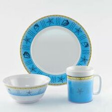 Decorated Offshore 18 Piece Dinnerware Gift Set