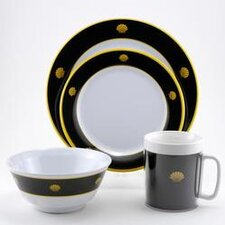 Decorated Melamine Non-skid Dinnerware Collection