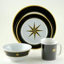 Decorated 24 Piece Dinnerware Gift Set