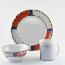 Decorated Life Preserver 18 Piece Dinnerware Gift Set