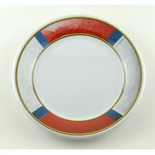 "Decorated 8"" Life Preserver Non-skid Salad / Dessert Plate (Set of 4)"