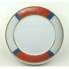 "Decorated 10"" Life Preserver Non-skid Dinner Plate (Set of 4)"