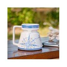 Compass Rose Non-skid 16 oz. Travel Mug