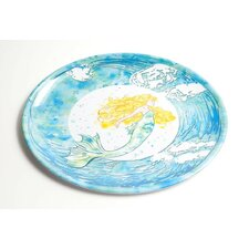 Yacht and Home Mermaid Melamine Oval Platter