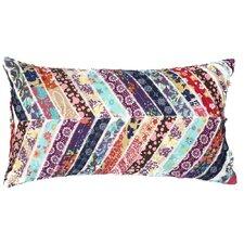 Potpourri Patchwork Cotton Throw Pillow