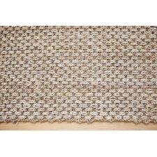 Hand-Woven Beige/ Ivory Area Rug
