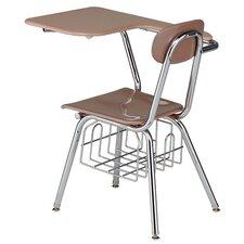 "15.5"" Plastic Tablet Arm Chair"