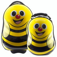 Cuties and Pals 2 Piece Bee Luggage Set