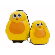 Cuties and Pals 2 Piece Chick Luggage Set