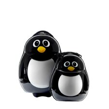 Cuties and Pals 2 Piece Penguin Luggage Set