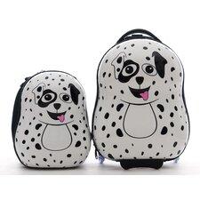 Cuties and Pals 2 Piece Dalmatian Luggage Set