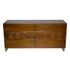 Papan 6-Drawer Dresser