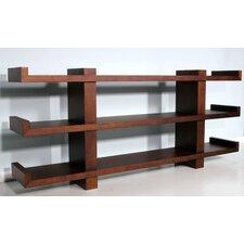 "Ming 36"" H Three Shelf Shelving Unit"