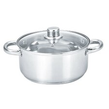Round Dutch Oven with Glass Lid