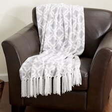 Keller Ultra Plush Fringed Velvet Throw