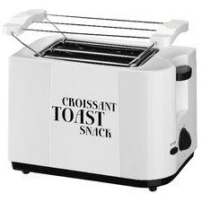Toaster 2 Scheiben mit Brötchenaufsatz