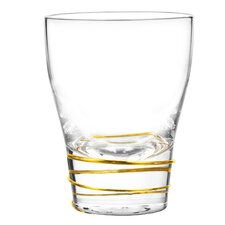 Helix 12 Oz. Double Old Fashioned Glass (Set of 4)