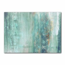 'Abstract Spa' by Alexis Bueno Painting Print on Wrapped Canvas