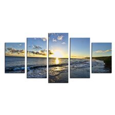 'Day Break' by Christopher Doherty 5 Piece Photographic Printt on Wrapped Canvas Set