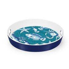 Sea Blues Sea Life Butler Tray
