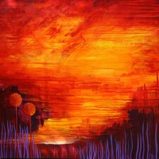 'Sisters' by Charlotte Wensley Original Painting on Wrapped Canvas
