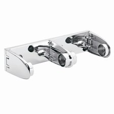 Commercial Premier Double Toilet Paper Holder in Polished Chrome