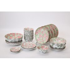 Rose 36 Piece Dinnerware Set