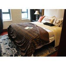 Tache Loose Layer Faux Fur/Sherpa Throw Blanket