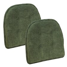 Rembrandt Gripper Tufted Chair Cushion (Set of 2)