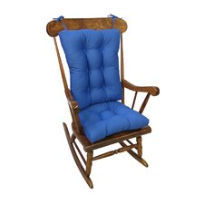Twill Gripper Jumbo Rocking Chair Cushion