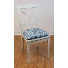 Cottage Stripe Gripper Essentials Chair Cushion (Set of 2)